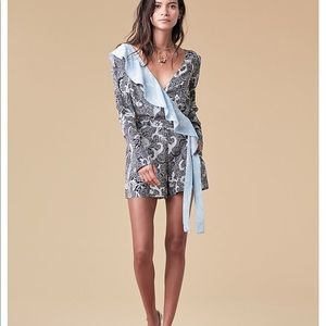 DVF Long Sleeved Ruffle Romper Size 6 WITH TAGS!!!